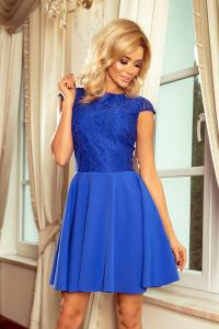 157-5Spoločenské šaty numoco   modré dea879566d1