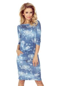 Šaty s dlhým rukávom 9b305d48d18