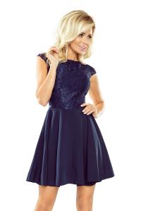 Obrázok pre 157-1 Spoločenské šaty numoco   granátová c87e738767b