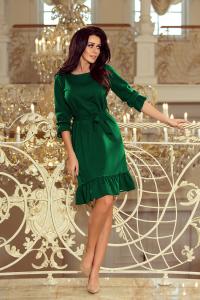 Obrázok pre 193-8 MAYA Šaty s volánmi   zelené 26caab59a14