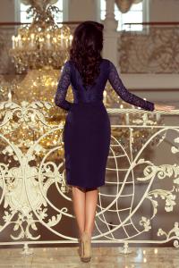 dd0bf78a7460 Obrázok pre 216-1 EMMA elegantné púzdrové šaty   granátové