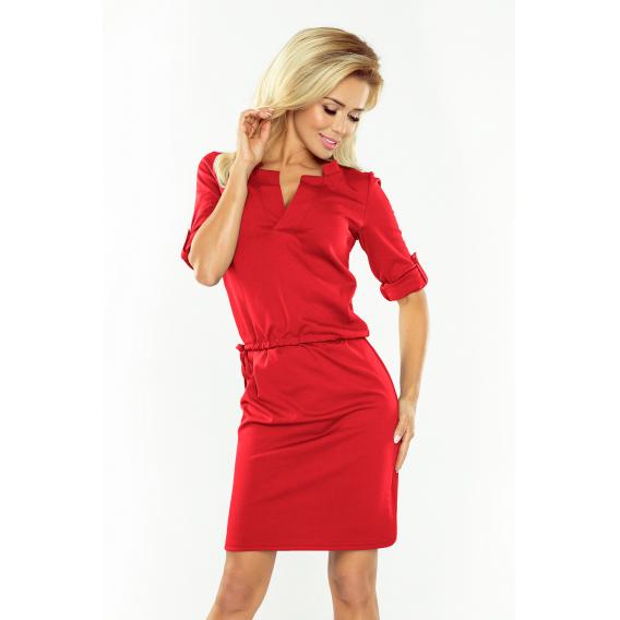 ea472008df5a Obrázok pre 161-11 AGATA - Numoco dámske šaty   červené