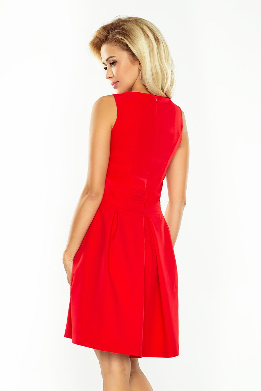 bd4e8c6d06d2 ... Obrázok pre 160-3 Elegantné šaty Numoco   červené ...