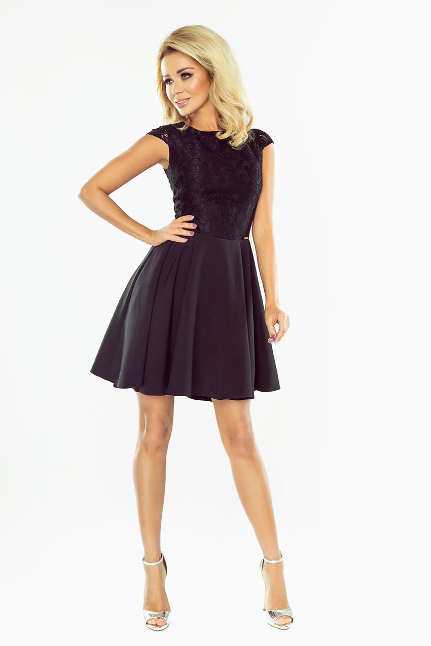 e089f3359af0 ... Obrázok pre 157-2 Spoločenské šaty numoco   čierne ...