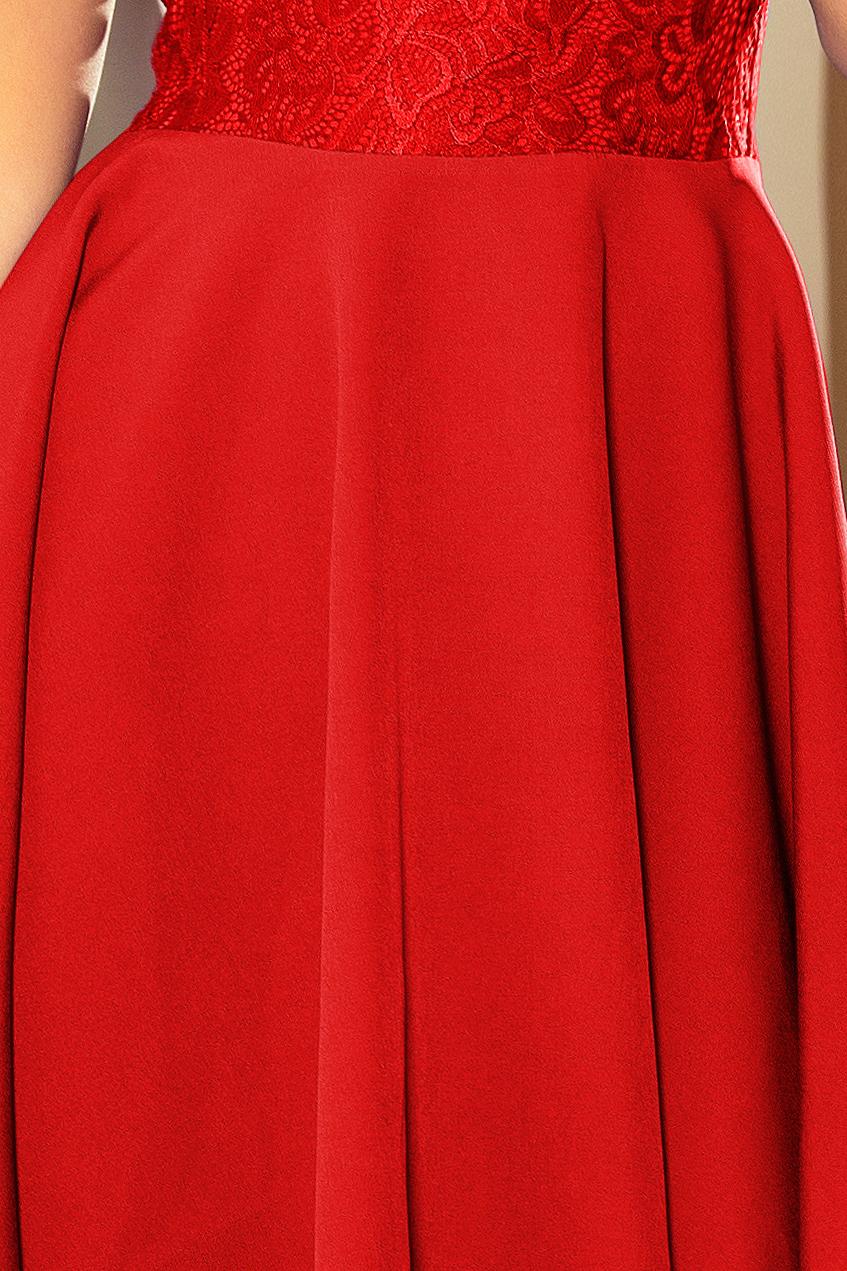 eb5c28de8f6 ... Obrázok pre 157-8 Spoločenské šaty numoco   červené ...