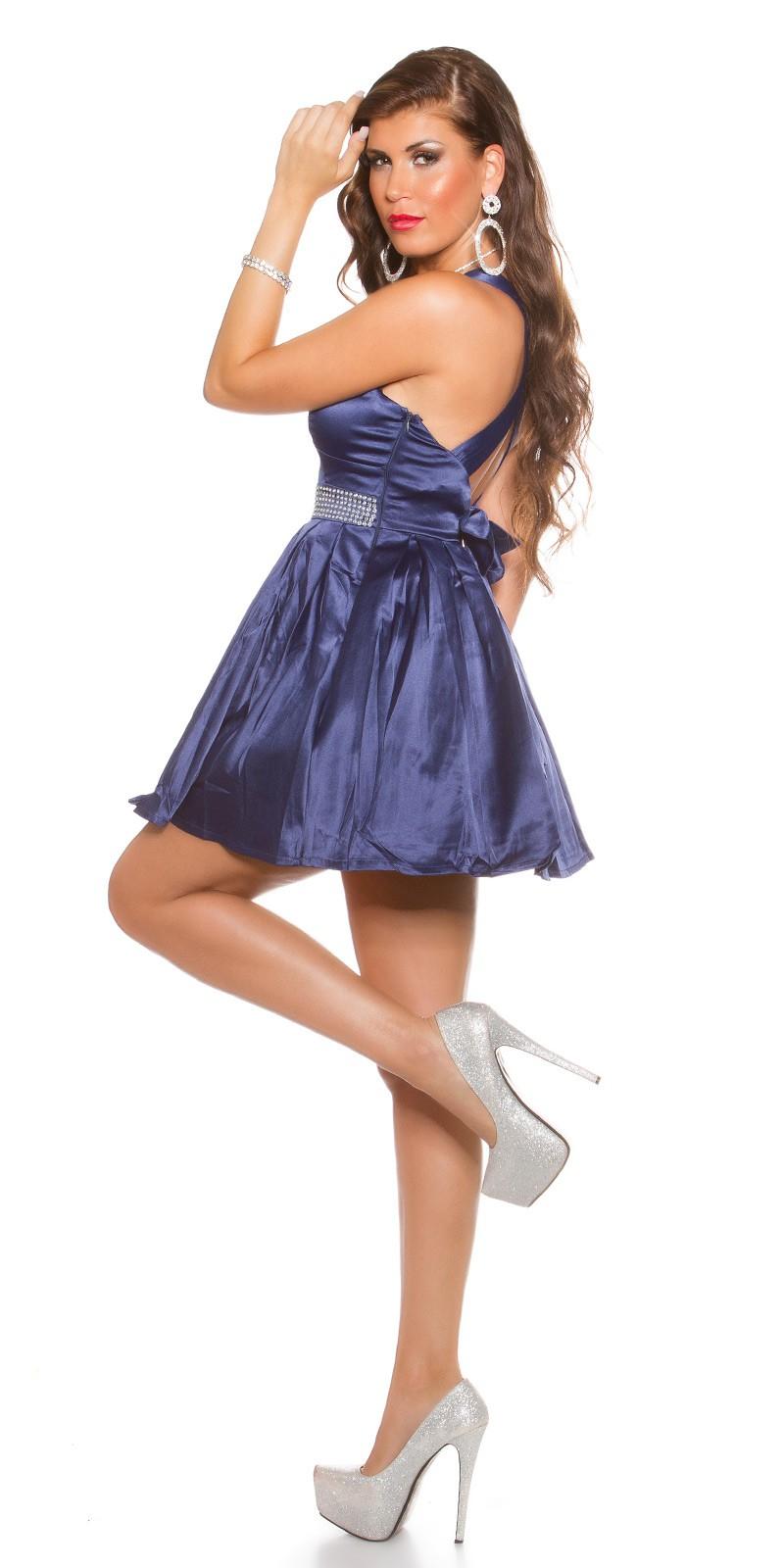 4806c2e98 Obrázok pre Spoločenské šaty s kamienkami / námornícky modré ...